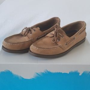 Sperry Top Sider Mens Size 9 Tan